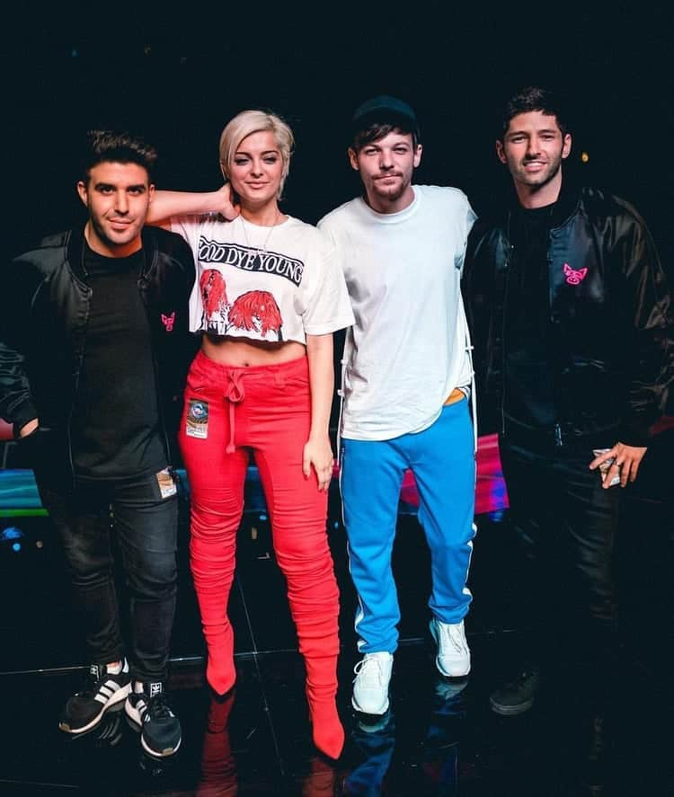 Bebe Rexha with One Direction