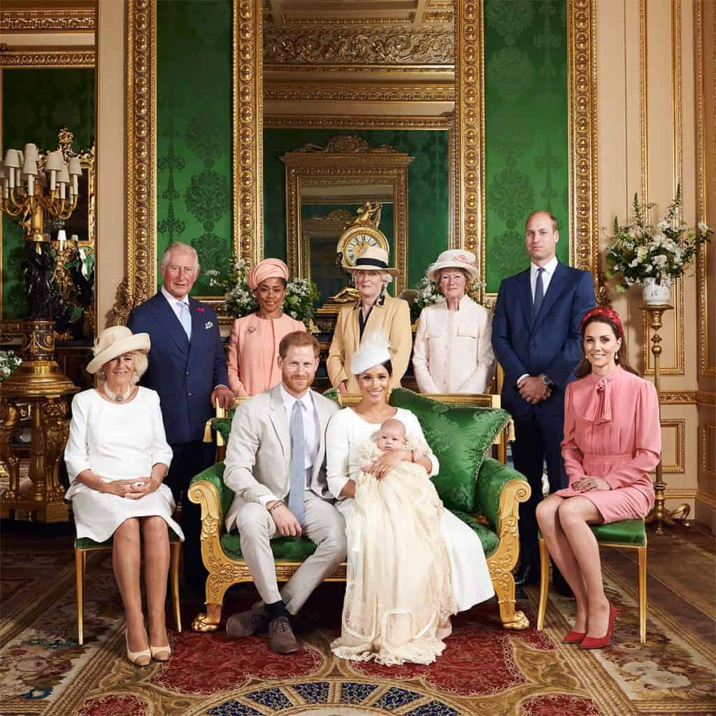 Official pictures of Baptism for Prince Henry and Princess Meghan, Archie Harrison Mountbatten-Windsor have been released